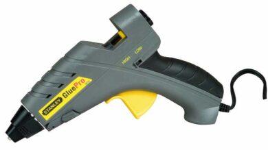 STANLEY 6-GR100 Pistole tavná dvouteplotní 80W lepidlo D11,3mm(0329102)