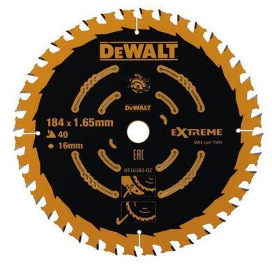 DEWALT DT10303 Pilový kotouč 184x16 40z(7900061)