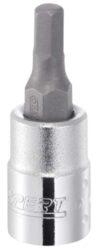 """EXPERT E030105 Hlavice inbus (imbus) 1/4"""" DRIVE 5mm šroubovák-Hlavice zástrčná se čtyřhranem"""
