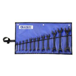 EXPERT E114040 Sada klíčů 12dílná-Sada klíčů plochých oboustranných 12-dílná, 5,5-32mm, černé