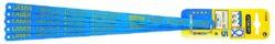 STANLEY 2-15-558 Plátky na kov 5ks 300mm 24TPI HSS LASER-List na ruční pilku 300mm BI-METAL, na kov