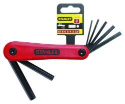 STANLEY 4-69-262 Sada klíčů 7dílná inbus (imbus) 2,5-10,0mm-Sada klíčů zástrčných šestihranných - IMBUS 7-dílná, 2,5-10mm