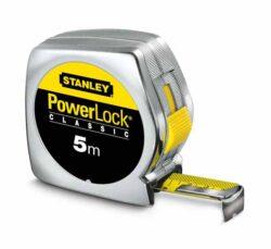 STANLEY 0-33-041 Metr svinovací 3m plast PowerLock blister- Metr svinovací 3m x 19mm, POWERLOCK, STANLEY