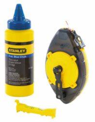 STANLEY 0-47-465 Lajnovací šňůra 30m PowerWider s barvou-Šňůra lajnovací - brnkačka 30m + barva, POWERWINDER