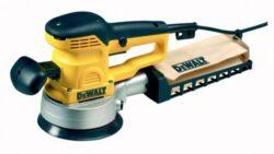DEWALT D26410 Bruska excentrická 150mm 400W-Excentrická bruska s pistolovou rukojetí 150 mm