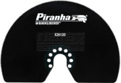 BLACK DECKER X26120-XJ Pilový list MULTI úsečový pro MT300-Segmentový pilový kotouč HSS 100mm