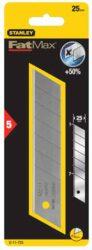 STANLEY 0-11-725 Čepel ulamovací náhradní 25mm FatMax (5ks)-Rozměr v mm25 Množství kusů5