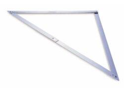 STANLEY 1-45-013 Úhelník skládací zednický 1220x1220x1720mm-Skládací stavařský úhelník