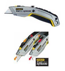 STANLEY 0-10-789 Nůž dvouplátkový zasouvací FatMax Xtreme-FatMax® Xtreme™ dvouplátkový zasouvací nůž 1-10-789