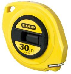 STANLEY 0-34-108 Pásmo 30m ABS uzavřené-Pásmo uzavřené s ocelovou páskou