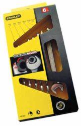 STANLEY 4-87-051 Sada klíčů 6dílná oboustranných MaxiDrive-Sada oboustranných otevřených klíčů MAXI-DRIVE™ PLUS v boxu