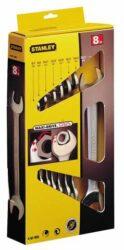 STANLEY 4-87-052 Sada klíčů 8dílná oboustranných MaxiDrive-Sada oboustranných otevřených klíčů MAXI-DRIVE™ PLUS v boxu
