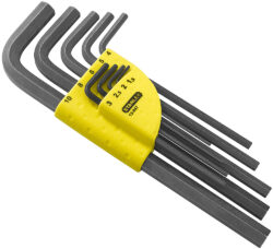 STANLEY 1-13-947 Sada klíčů 9dílná inbus (imbus) 1,5-10,0mm prodl.-Sada zástrčných klíčů