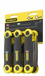 """STANLEY 69-268 Sada klíčů 25dílná imbus 1,5-8mm & torx T9-T40 & inch 5/64""""-1/4""""-Sada klíčů 25dílná imbus 1,5-8mm& inch 5/64-1/4& torx T9-T40"""