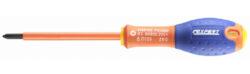 EXPERT E165416 Šroubovák PH2 křížový VDE 1000V-Šroubovák izolovaný 1000V křížový Phillips® Ph2x125mm