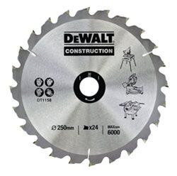 DEWALT DT1158-QZ Pilový kotouč 250x30 24z-Pilový kotouč Series 30 pro kotoučové pily 250x30mm 24z ATB 10°