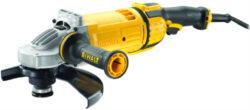 DEWALT DWE4599-QS Bruska úhlová 230mm 2600W-Velká úhlová bruska 230 mm autovyvažování