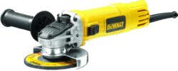 DEWALT DWE4150-QS Bruska úhlová 115mm 900W-Malá úhlová bruska 115 mm s posuvným spínačem - 900 W