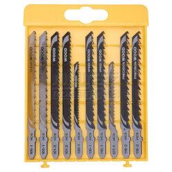 DEWALT DT2294-QZ Sada pilových plátků MIX 10dílná-10-ti dílná sada pilových plátků mix na dřevo a kov pro přímočaré pily