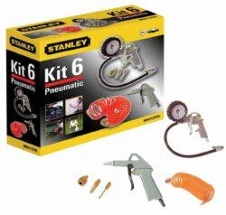 STANLEY 9045717STN Sada příslušenství ke kompresoru KIT BOX 6ks-Sada příslušenství ke kompresoru KIT BOX 6ks