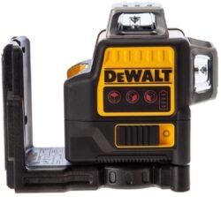 DEWALT DCE0811NR-XJ Aku laser linkový 10,8V 2x červený paprsek (bez akumulátoru)-2x paprsek - vertikální a horizontální