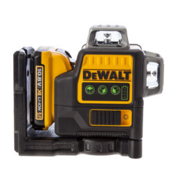 DEWALT DCE0811D1G-QW Aku laser linkový 10,8V 1x2,0Ah 2x zelený paprsek          -2x paprsek - vertikální a horizontální
