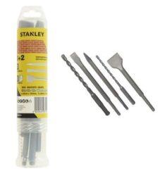 STANLEY STA54400-XJ Sada sekáčů a vrtáků SDS-plus 5dílná