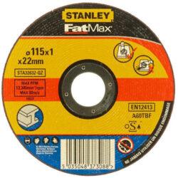 STANLEY STA32627-QZ Kotouč řezný 125x1,6mm na hliník