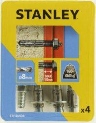 Kotva průvlaková rozpínací se šroubem 8x65mm SET4 STANLEY STF44404-XJ