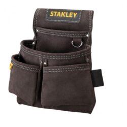 STANLEY STST1-80116 Kapsa na nářadí DOUBLE-Kožené opaskové pouzdro na nářadí a hřebíky