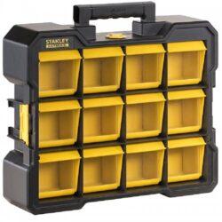 Organizér TSTAK FLIP BIN FATMAX STANLEY FMST81077-1-Organizér s výklopnými přihrádkami