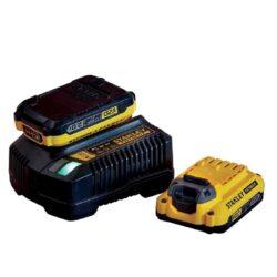 STANLEY SFMCB12D2-QW Set 2x akumulátor 20V 2,0Ah + nabíječka 2,0A SFM-Set 2x akumulátor 20V 2,0Ah + nabíječka 2,0A
